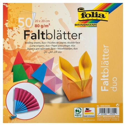 origami papier (dvojfarebný)
