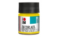 Marabu Acryl Decorlack, 50 ml, žltá, 1 ks