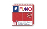 FIMO® leather effect, červený meón, 57 g