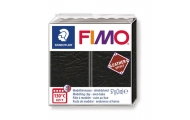 FIMO® leather effect, čierna, 57 g