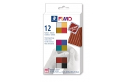 FIMO® leather effect, sada, 12x25g